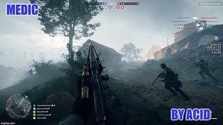 Battlefield 1 Closed Alpha - Medic Gameplay