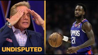 UNDISPUTED | Skip Bayless react to Beverley the 3rd most important Clippers ahead of Playoffs