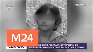 Серпуховский суд избирает меру пресечения для подозреваемого в убийстве пятилетней девочки - Москв…