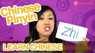 "Learn Chinese Pinyin Pronunciation: How to Pronounce ""zi ci si zhi chi shi ri"" in Mandarin Chinese"