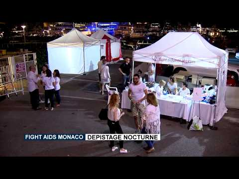 Fight Aids Monaco : dépistage nocturne