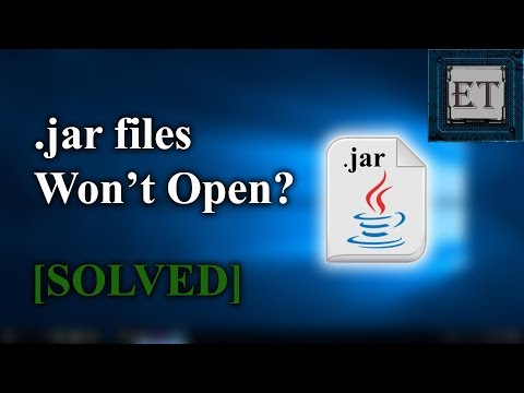 Download How To Run Executable Java Jar Files In Windows