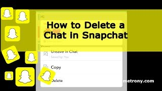 How to Delete a Chat in Snapchat