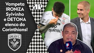 'É muito curso da CBF, né?' Vampeta ironiza Sylvinho e detona elenco do Corinthians