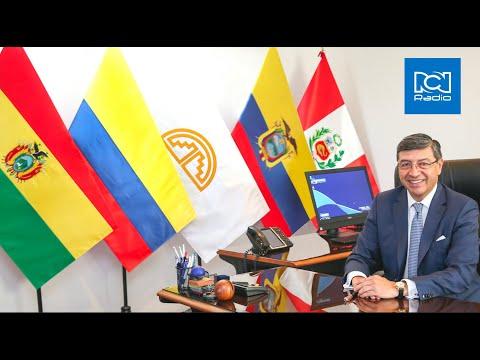Entrevista de RCN Boyacá  de Colombia al Secretario General de la CAN Jorge Hernando Pedraza