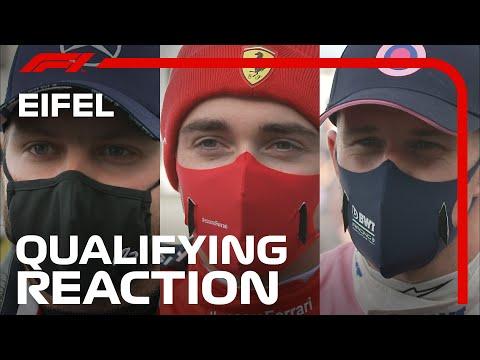 F1 ドイツGP2020 予選を終えたドライバーインタビュー動画