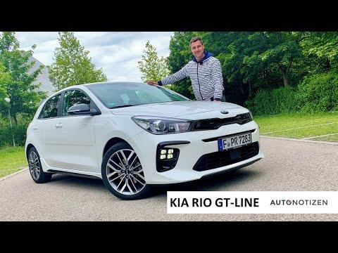 Kia Rio GT-Line 1.0 T-GDI (120 PS): Kleinwagen im Review, Test, Fahrbericht