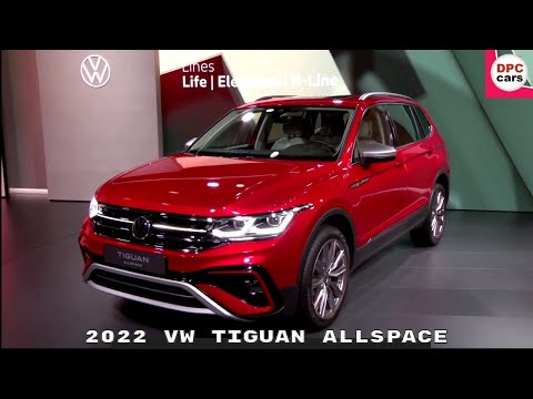 New Volkswagen Tiguan Allspace 2022 Reveal