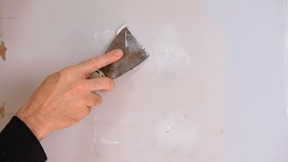 How To Fix Small Holes  House Painting