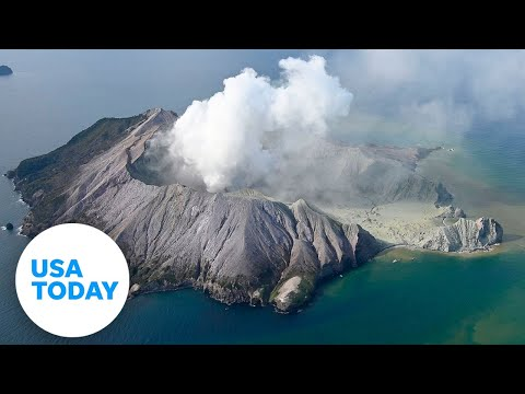 New Zealand volcano erupts while tourists still on island   USA TODAY