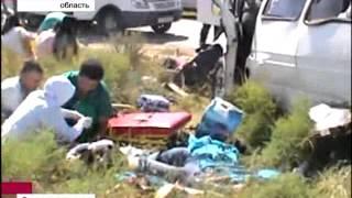 В ДТП в Южном Казахстане погибли 11 человек