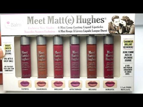 Meet Matte Hughes Long Lasting Liquid Lipstick by theBalm #5