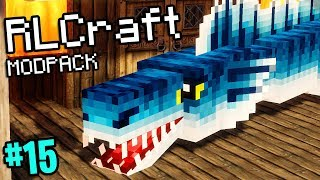 Minecraft But Giant Serpents Destroy Us (RLCraft Modpack #15)