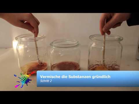 EXPERIMENT-Farben&Pigmente-Bindemittel