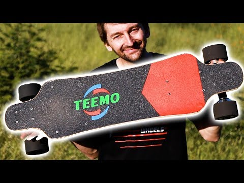 THE FASTEST AND CHEAPEST ELECTRIC SKATEBOARD | TEEMO BOARD