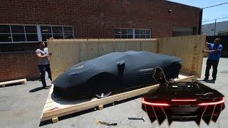 The World's FIRST Lamborghini Centenario Roadster - $2.75 Million