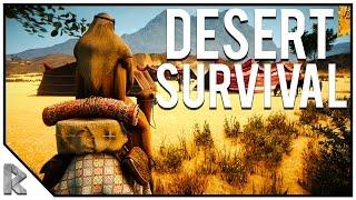 NEW Desert Survival Game! - Craft, Fight, Hunt & More! - Badiya Gameplay