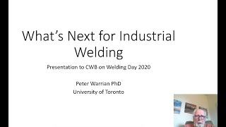 What's Next for Industrial Welding