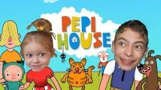 СМЕШНОЕ ВИДЕО ДЛЯ ДЕТЕЙ Pepi House поиграем в семью
