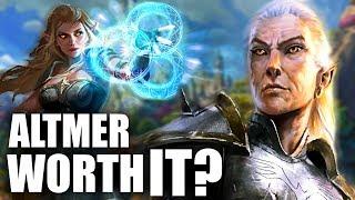 Skyrim: Being a High Elf WORTH IT? - Elder Scrolls Lore