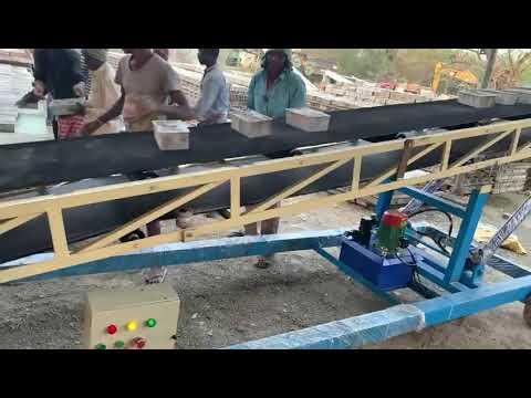Industrial Crusher Plant Conveyor