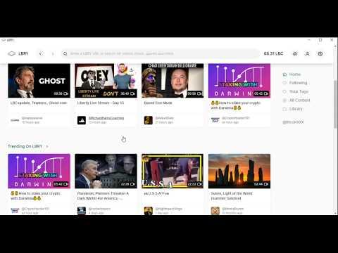 Как Начать Зарабатывать на YouTube видеохостинг LBRY