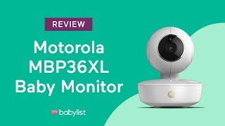 Motorola MBP36XL Baby Monitor Review - Babylist
