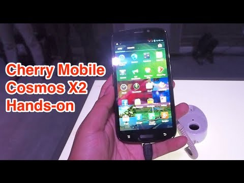 Cherry Mobile Cosmos X2 Hands-on