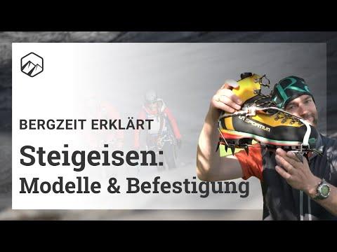 Steigeisen: Modelle und Befestigung | Bergzeit