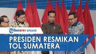 Presiden Jokowi akan Resmikan Tol Trans Sumatera Terbanggi Besar - Kayu Agung