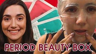 I Tried A Period Beauty Box