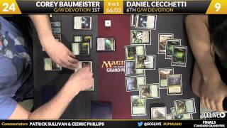 Grand Prix Miami 2015 Finals: Corey Baumeister (G/W Devotion) vs. Daniel Cecchetti (G/W Devotion)