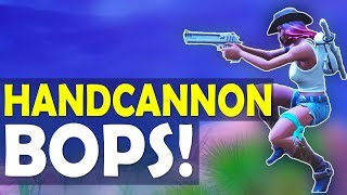 HANDCANNON BOPS! SLAYING OUT WITH DEAGLE   AUTO SHOTTY COMBO - (Fortnite Battle Royale)