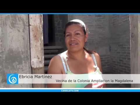 Escasez de agua en la colonia Ampliación La Magdalena del municipio La Paz