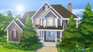 BASE GAME MANSION // The Sims 4: Speed Build - Video Youtube
