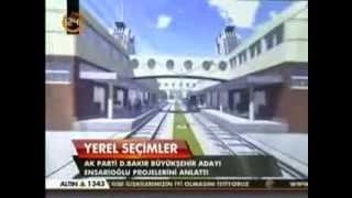 preview picture of video 'AKParti Diyarbakır Bbb Adayı Galip Ensaroğlu Projelerini Anlattı; Kayseri - Erbil Tren'