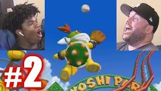 I ROB GABE'S HOMER! | Mario Super Sluggers #2