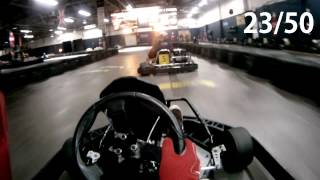 preview picture of video 'Fast Indoor Go Karts at Top Karting'