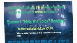 tribute to john lennon roy orbison and elvis performed by Stewart headley
