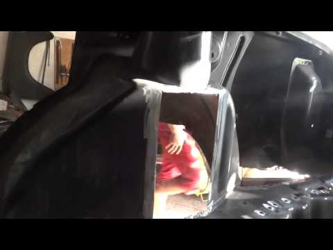 Ремонт задних лонжеронов ваз 2115