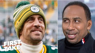Aaron Rodgers is still a 'bad man,' but we don't know the Packers' identity- Stephen A. | First Take