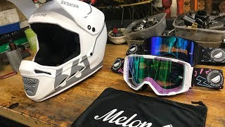 SixSixOne Reset Helmet | Melon Optics MTB Goggles Unboxing