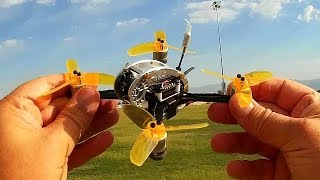 Kingkong Fly Egg 130 FPV Racing Drone Flight Test Review
