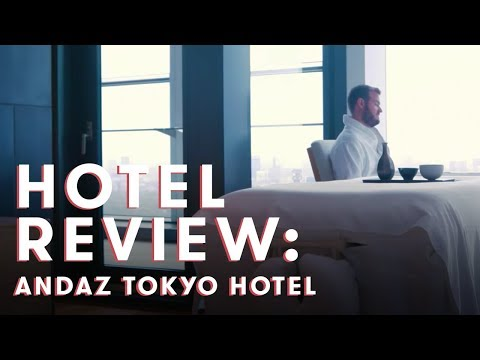 Inside My Jaw-Dropping Suite at the Andaz Tokyo Hotel