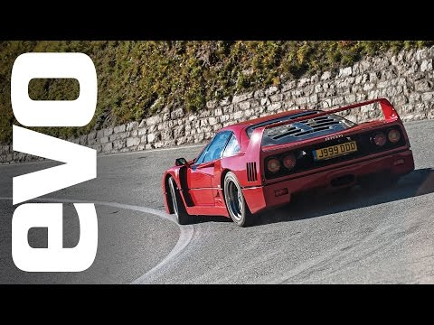 Ferrari F40 in the Alps | INSIDE evo