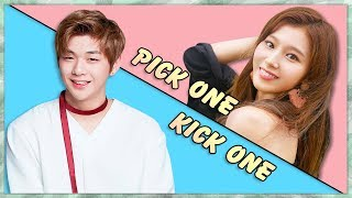 Pick One Kick One Pt.6 (K Pop Game)