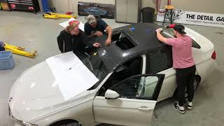 2 Minute Roof Wrap - Brand New BMW 3 Series