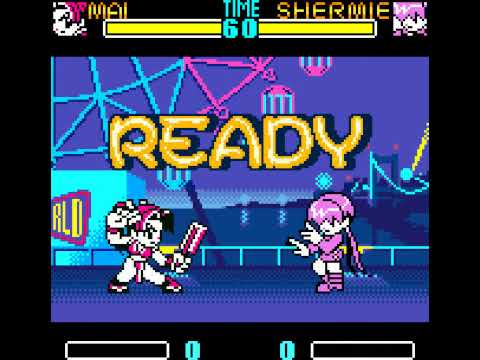 Neo Geo Pocket Color Longplay [13] SNK Gals' Fighters