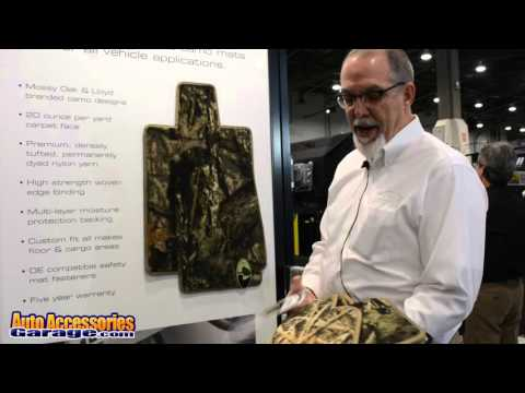 Lloyd Camo Floor Mats Video