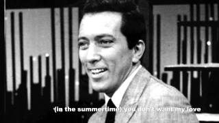 andy williams compilation  album   (in the summertime) you dnt't want ny love